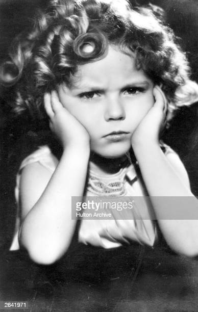 American child actress Shirley Temple