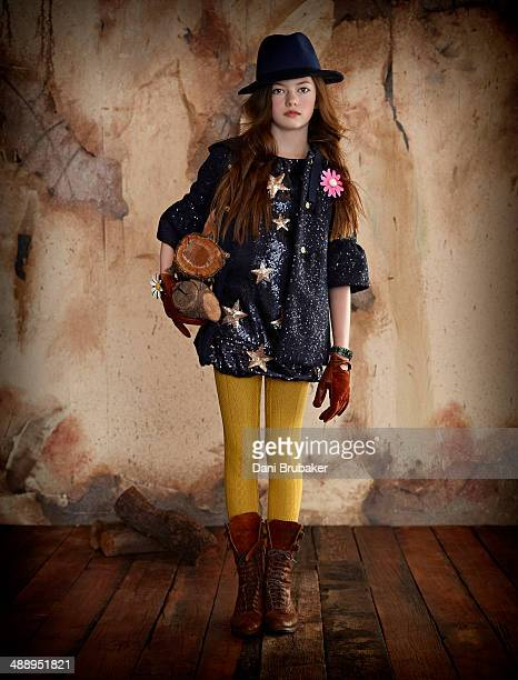American child model and actress Mackenzie Foy for Vogue Bambini on September 5 2012 in Los Angeles California PUBLISHED IMAGE
