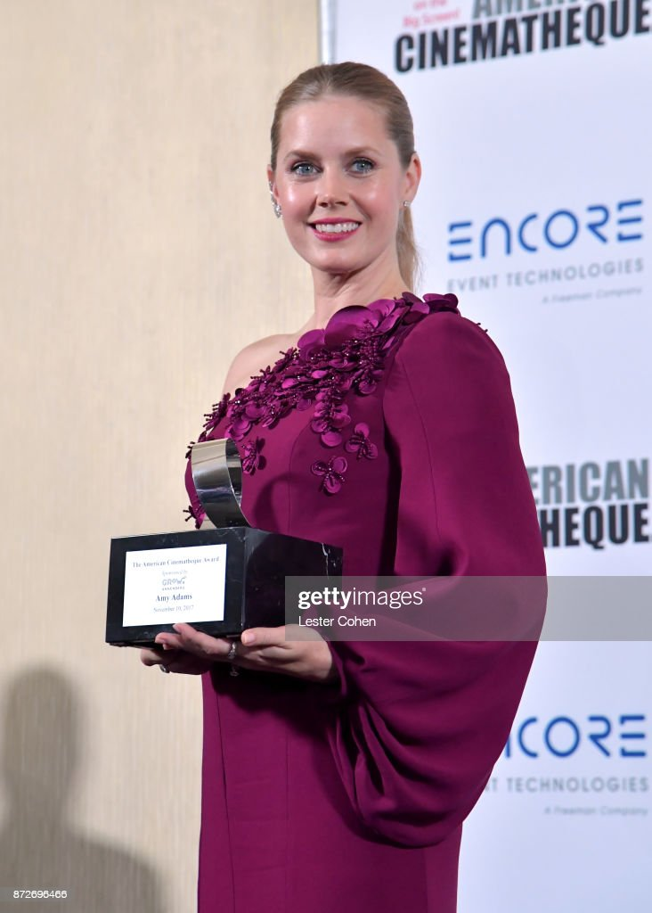 American Cinematheque Award recipient Amy Adams attends the 31st Annual American Cinematheque Awards Gala at The Beverly Hilton Hotel on November 10, 2017 in Beverly Hills, California.