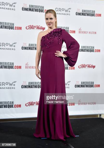 American Cinematheque Award recipient Amy Adams attends the 31st Annual American Cinematheque Awards Gala at The Beverly Hilton Hotel on November 10...