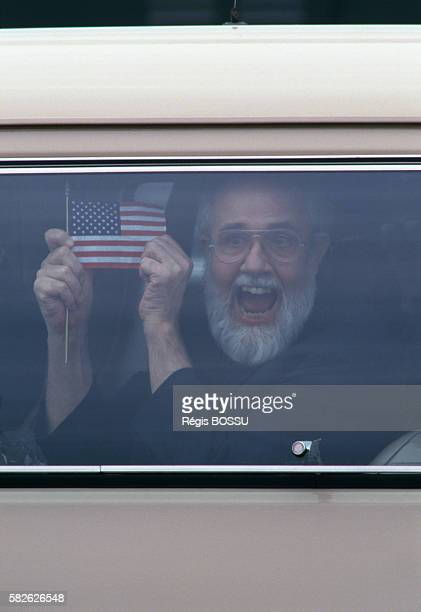 American citizen the Reverend Lawrence Martin Jenco is freed after being held hostage in Lebanon in January 1985 Jenco who was working as a director...