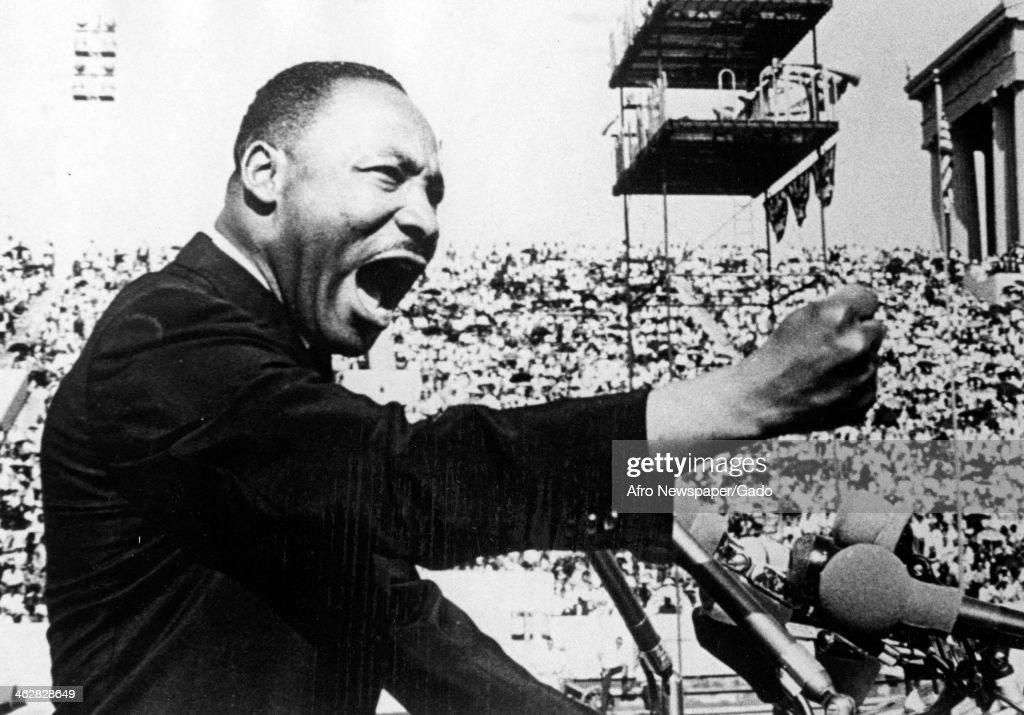 MLK At Soldier Field : News Photo
