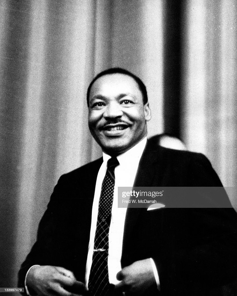 American Civil Rights leader Reverend Martin Luther King Jr. (1929 - 1968) attends an event held by the Drug, Hospital, and Health Care Employees Union-District 1199 (later renamed 1199: The National Health Care Workers' Union) at the Roosevelt Hotel, New York, New York, June 14, 1967.