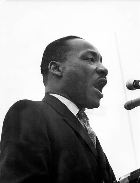 Dr. King Speaks At Anti-War Rally