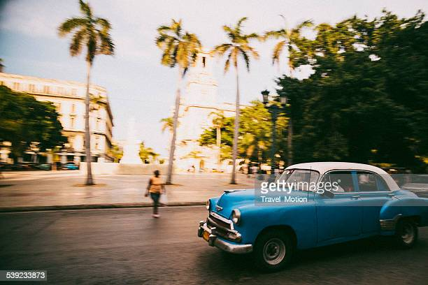 American classic car in Havana, Cuba