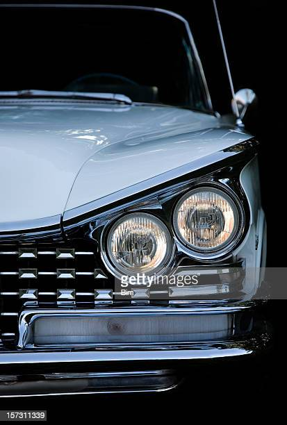 american classic convertible car - vehicle grille stock pictures, royalty-free photos & images