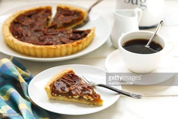 American classic pecan pie