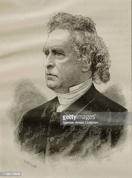 American clergyman, theologian and writer, the Reverend Rollin Heber Neale , circa 1870. From 1837 to 1877, he was pastor of the 1st Baptist church...