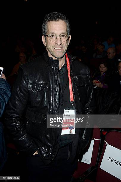 American clothing designer Kenneth Cole attends the What Happened Miss Simone premiere during the 2015 Sundance Film Festival on January 22 2015 in...