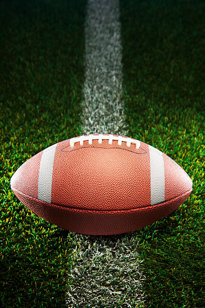 American College Football On Grass Wall Art