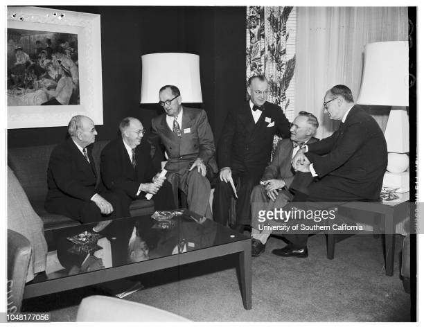 American College of Chest Physicians, 02 December 1951. Doctor Charles M Hendricks ;Doctor Jay Arthur Myers ;Doctor Edward W Hayes ;Doctor J Winthrop...