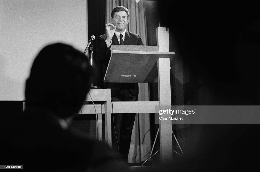 Jerry Lewis at the RCA : Nachrichtenfoto