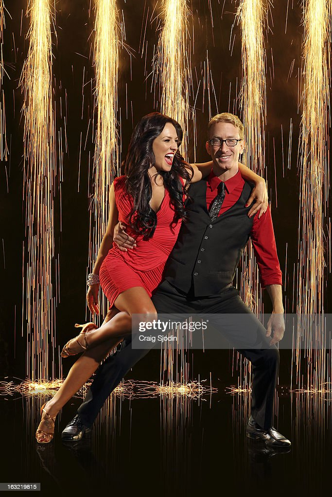 BURGESS -- American comedian, actor, writer, director, musician and producer, Andy Dick joins first time professional partner Sharna Burgess. The two-hour season premiere of 'Dancing with the Stars' airs MONDAY, MARCH 18 (8:00-10:01 p.m., ET) on the ABC Television Network.