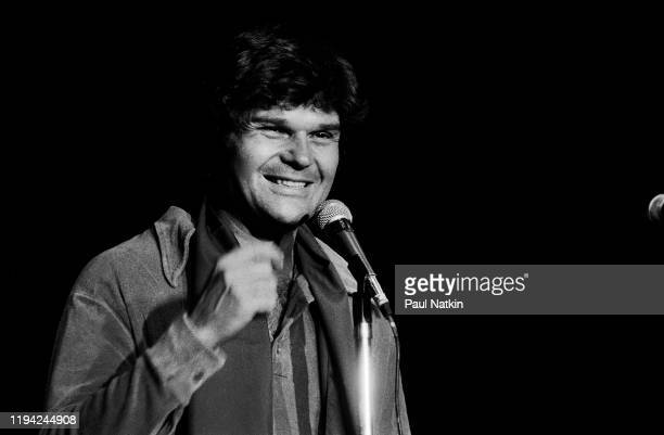 American comedian and actor Fred Willard performs onstage at the Park West Chicago Illinois September 8 1978