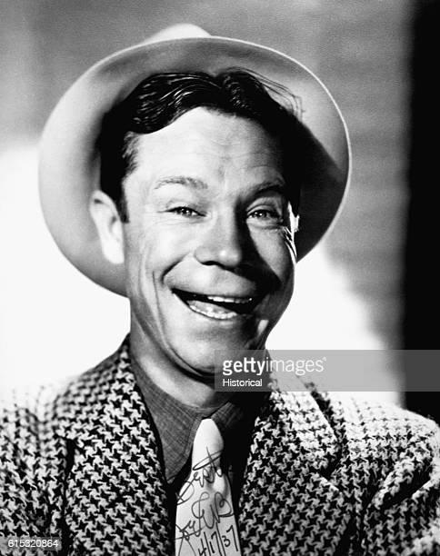 American comedian and actor Joe E Brown Ca 1937