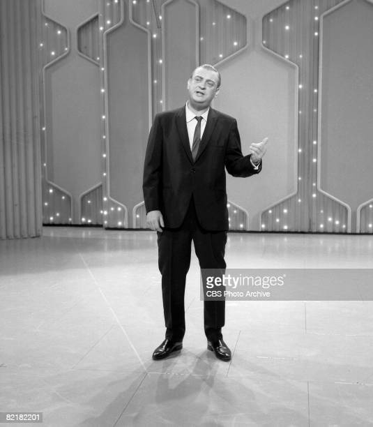 American comedian and actor Rodney Dangerfield as he performs on an episode of 'The Ed Sullivan Show,' New York, New York, January 4, 1970.