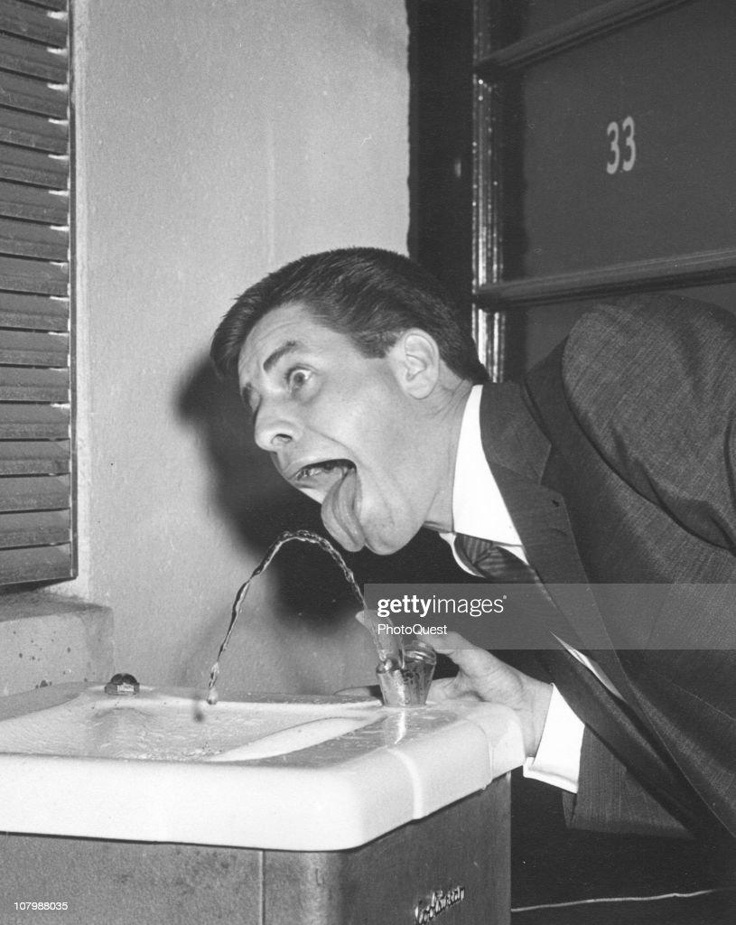 Clowning With Jerry Lewis : Nachrichtenfoto