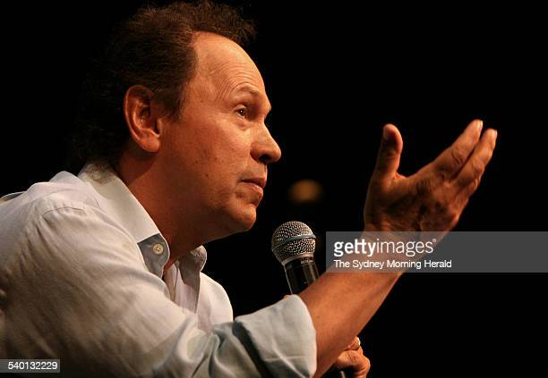 American comedian Billy Crystal during a press call at the Capitol Theatre for his oneman show '700 Sundays' Sydney 5 February 2007 SMH Picture by...