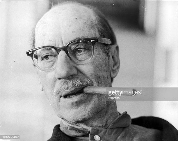 American comedian Groucho Marx in London 16th July 1971