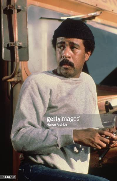 American comedian Richard Pryor a veteran of both standup and film comedy