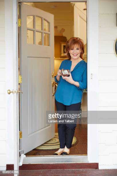 American comedian writer and actress Joy Behar is photographed in her home for People Magazine on January 20 2017 in Sag Harbor New York PUBLISHED...