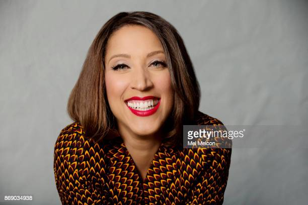 American comedic actress writer sketch and improvisational comedian Robin Thede is photographed for Los Angeles Times on September 18 2017 in Los...