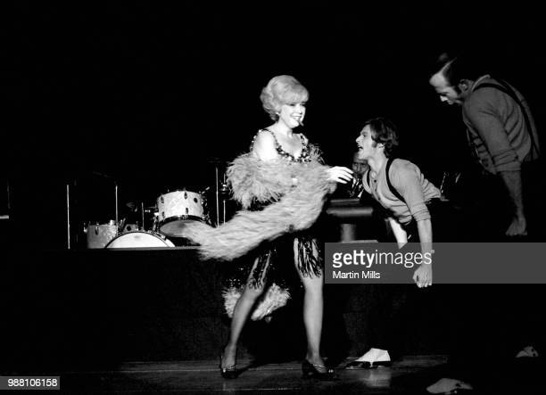 American comedienne actress singer and businesswoman Edie Adams performs on stage at a nightclub on December 17 1969