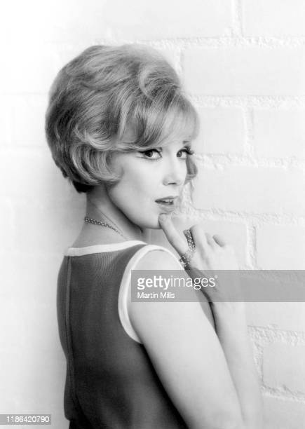 American comedienne actress singer and businesswoman Edie Adams poses for a portrait during the Muriel Cigars product shoot circa 1960's in Los...