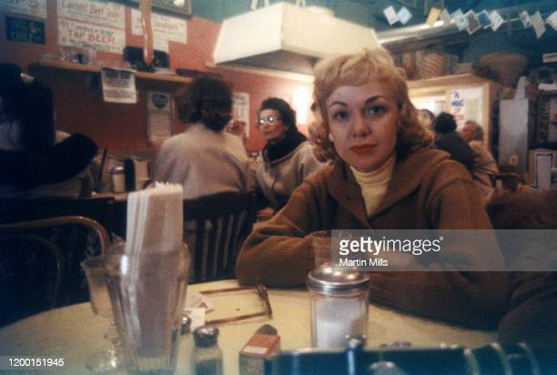 American comedienne actress singer and businesswoman Edie Adams poses for a portrait while on vacation circa December 1958 in Virginia City Nevada