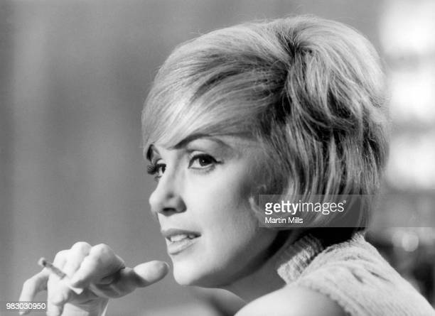 American comedienne actress singer and businesswoman Edie Adams poses for a portrait during the filming of 'The Honey Pot' circa 1966 at Cinecitta...