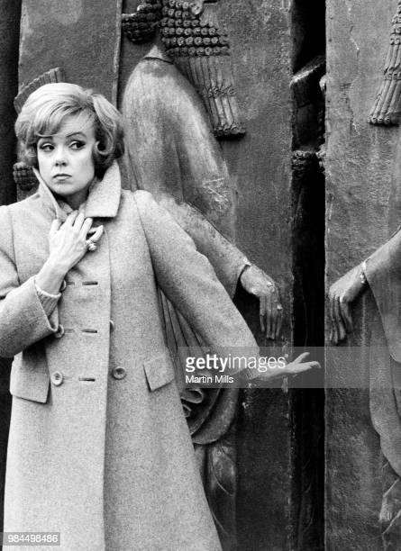 American comedienne actress singer and businesswoman Edie Adams poses for a portrait circa 1966 in Rome Italy