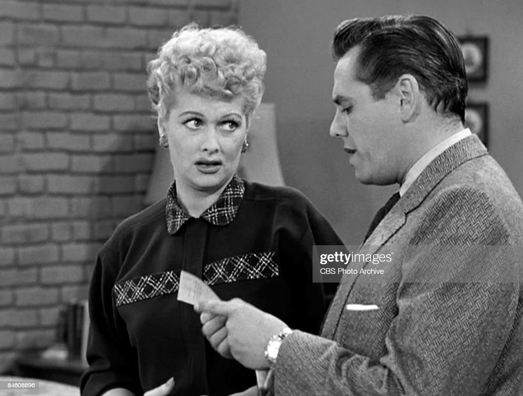 American Comenne And Actress Lucille Ball 1911 1989 As Lucy Ricardo
