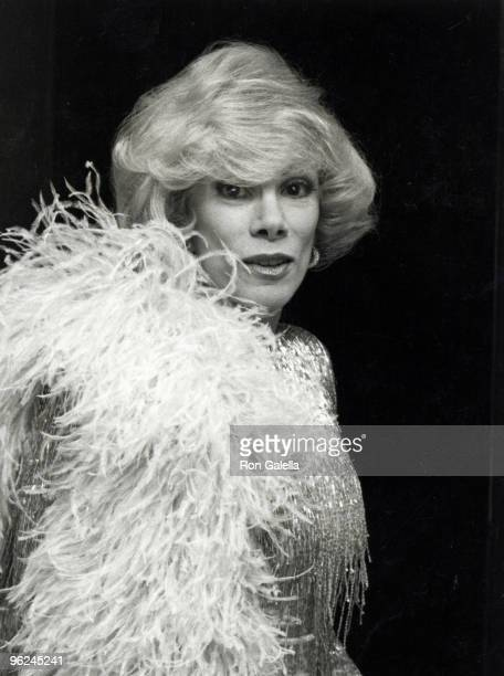 American comedienne Joan Rivers at the 'Best of Vegas' Awards Las Vegas 21st March 1980