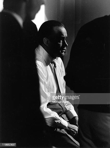 American comic actor Bob Hope at Pinewood Studios 1962