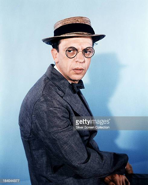 American comic actor Don Knotts as Henry Limpet in the liveaction/animated film 'The Incredible Mr Limpet' directed by Arthur Lubin 1964