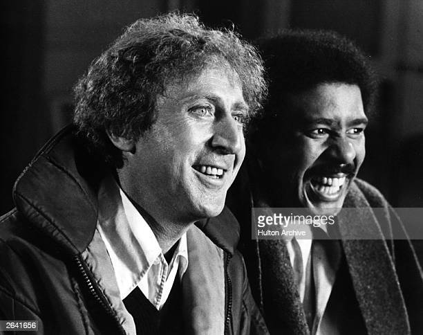 American comic actor Gene Wilder originally Jerry Silkman stars with nightclub comedian Richard Pryor in the action comedy 'Silver Streak' Directed...