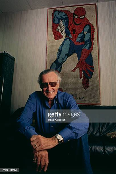 American comic book writer, editor, actor, producer, publisher, and the former president and chairman of Marvel Comics, Stan Lee co-created...