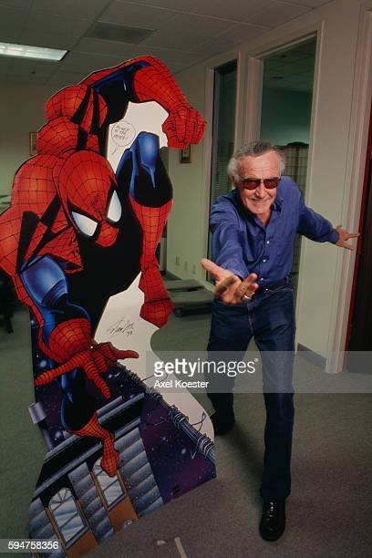 American comic book writer editor actor producer publisher and the former president and chairman of Marvel Comics Stan Lee cocreated SpiderMan
