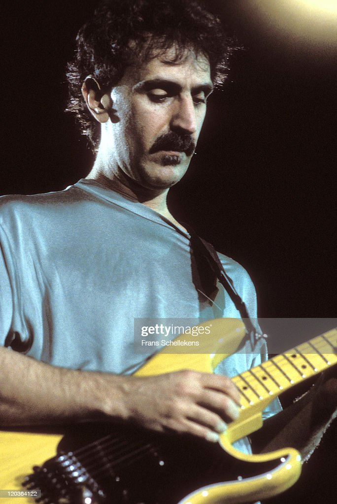 american composer and guitarist frank zappa performs live on stage at news photo getty images. Black Bedroom Furniture Sets. Home Design Ideas