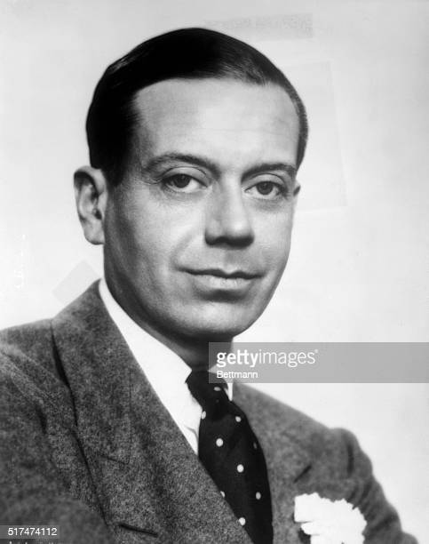 American composer and lyricist Cole Porter 18911964