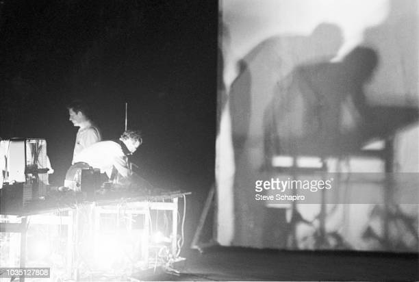 American composer and musician John Cage performs onstage New York New York 1964