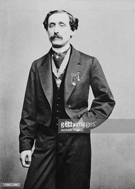 American composer and pianist Louis Moreau Gottschalk , circa 1860.
