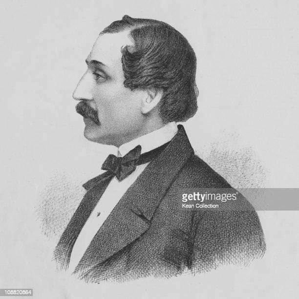 American composer and pianist Louis Moreau Gottschalk circa 1860