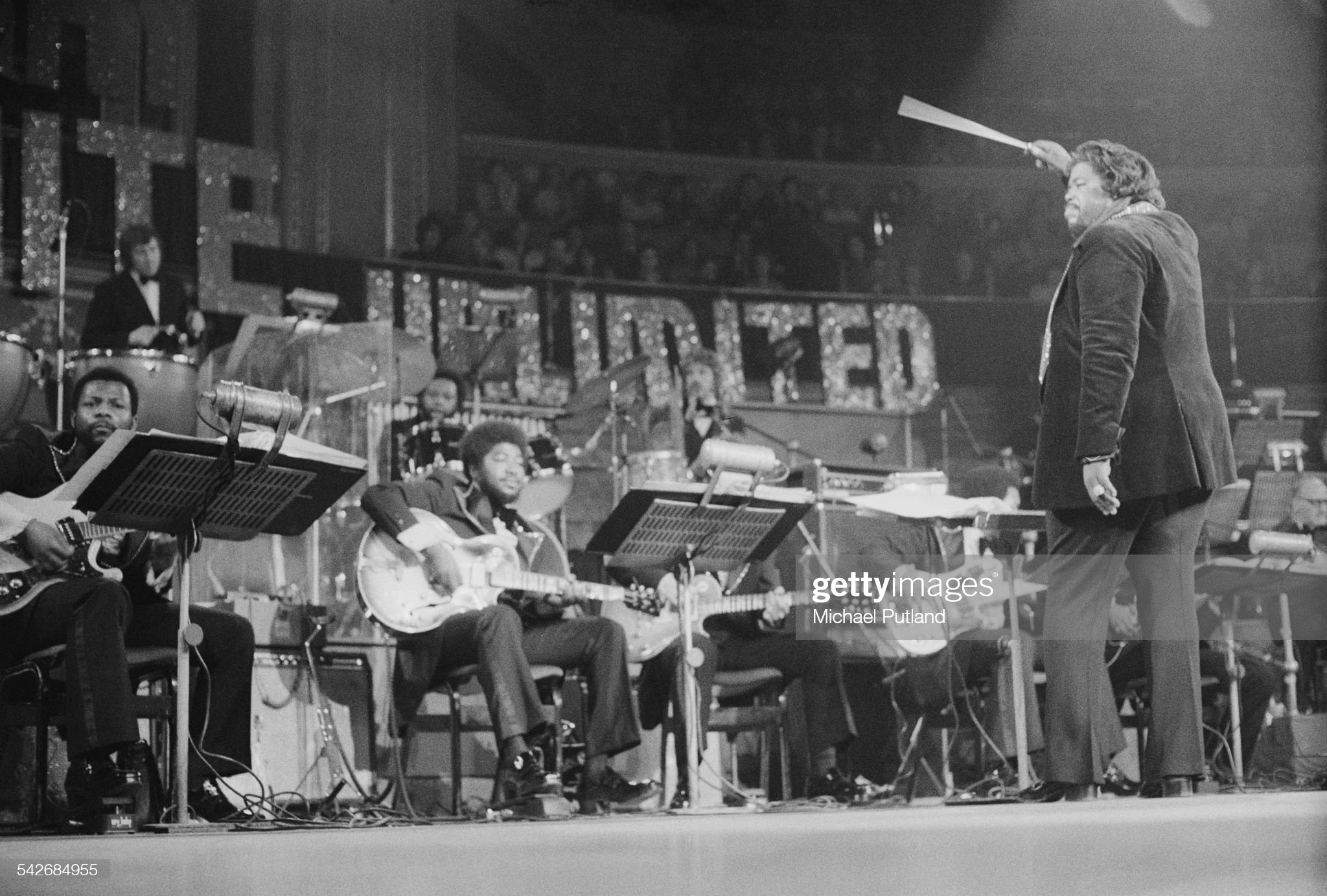 Barry White And Love Unlimited : News Photo
