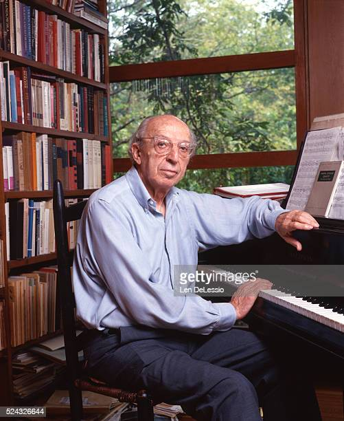 American composer composition teacher writer and conductor Aaron Copland