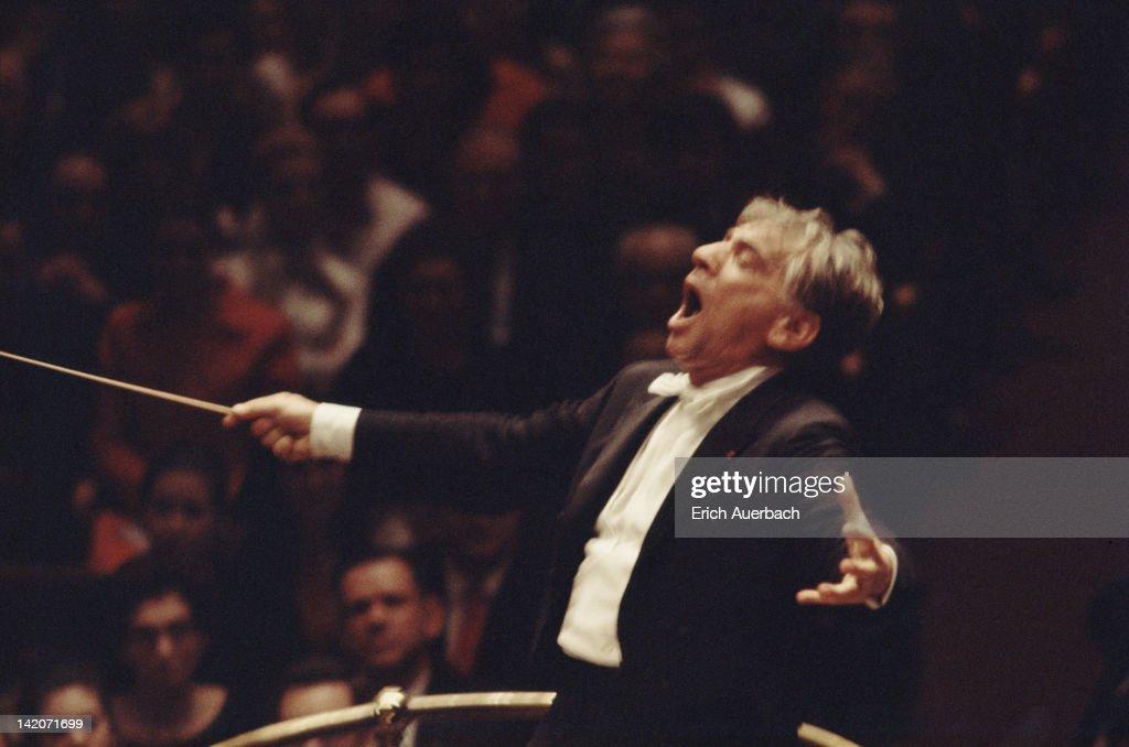 Leonard Bernstein : News Photo
