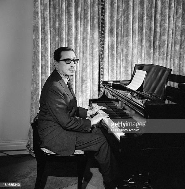 American composer Harold Arlen on THE TWENTIETH CENTURY Episode called 'The Songs of Harold Arlen' Image dated November 9 1963