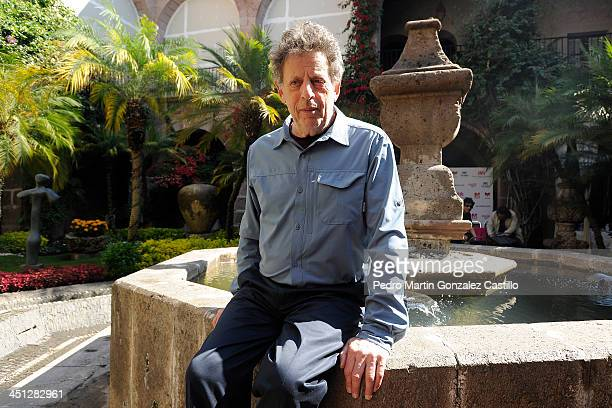 American composer Philip Glass and Kronos Quartet play music of the classic movie Dracula during the 25th Morelia Music Festival on Novenber 20 2013...
