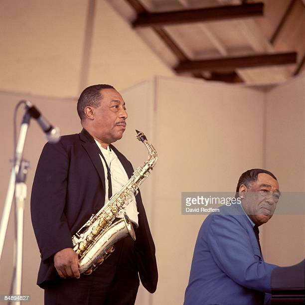 FESTIVAL Photo of Duke ELLINGTON and Johnny HODGES