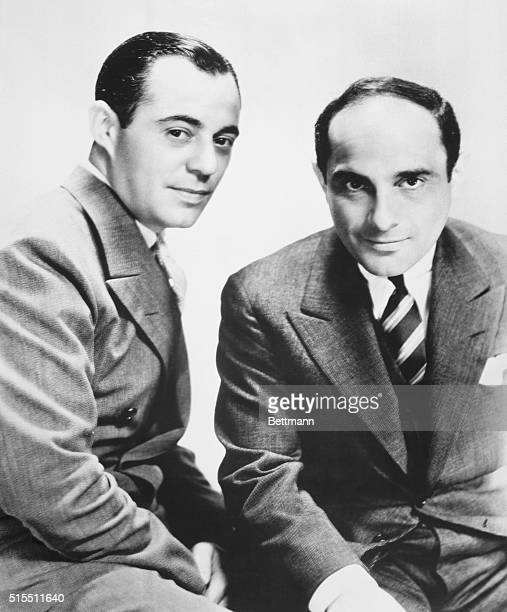 American composer Richard Rodgers and lyricist Lorenz Hart